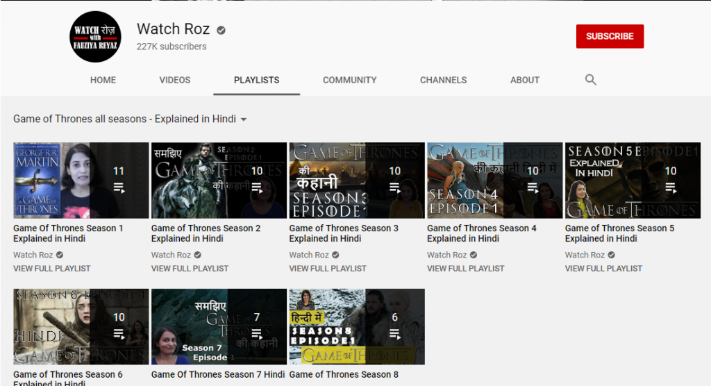Playlist - Ways to Optimize Youtube Channel in 2020.
