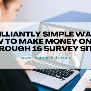 Brilliantly Simple Ways How to Make Money Online Through 16 Survey Sites