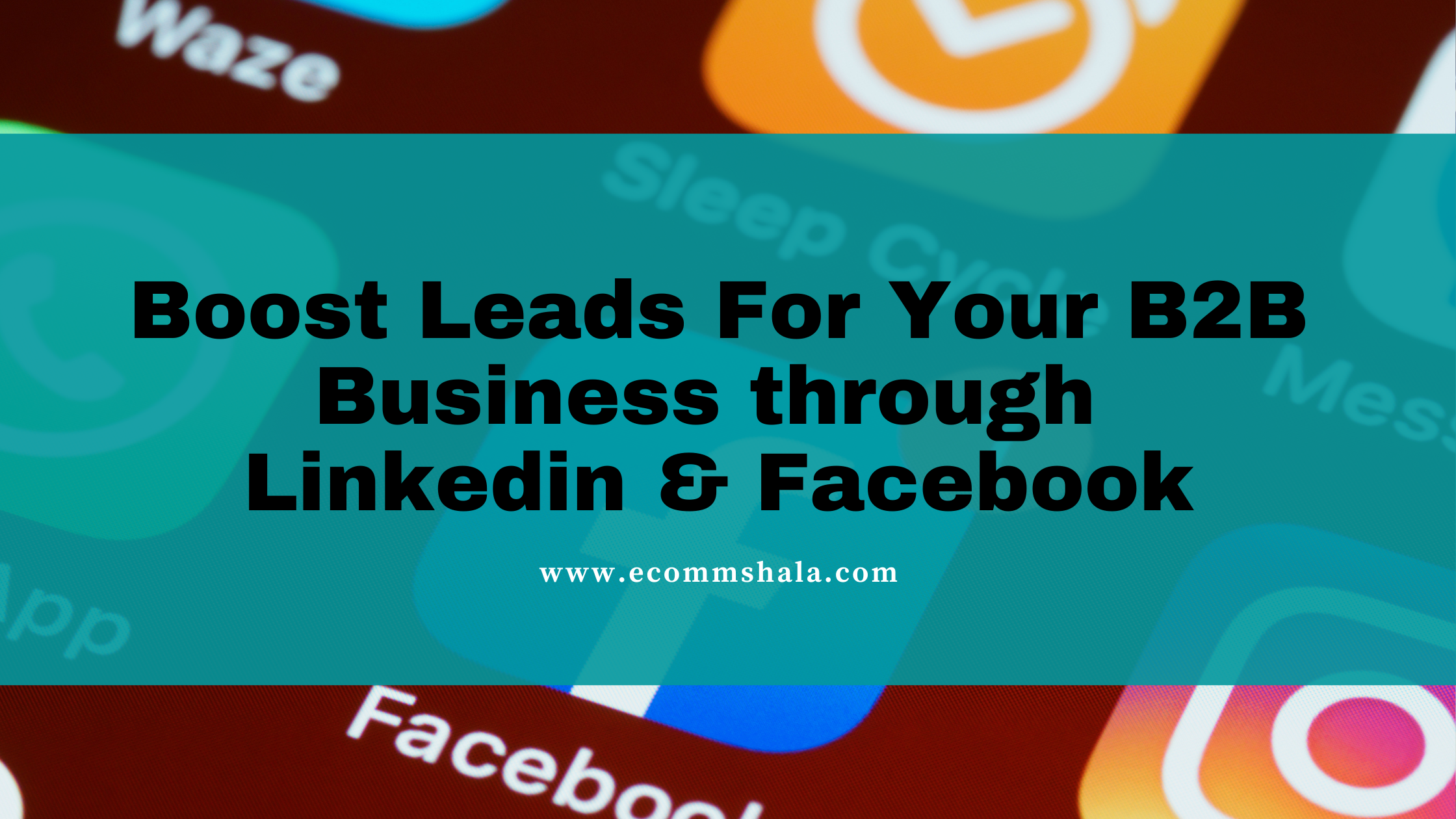 Boost Leads For Your B2B Business through Linkedin & Facebook